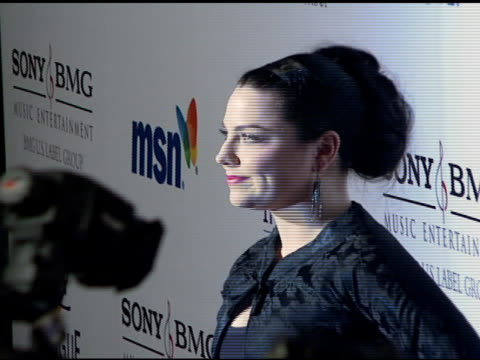 Amy Lee at the Clive Davis 2008 PreGrammy Awards Party at NULL in Beverly Hills California on February 9 2008