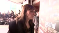 Amy MacDonald says she is here for the dinner and not the awards at the Capital Awards at the Riverbank Park Plaza Hotel in London on March 20 2008