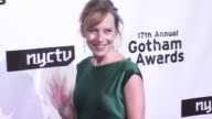 Amy Ryan at the 17th Annual Gotham Awards Presented by IFP at Steiner Studios in Brooklyn New York on November 27 2007