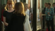 MS Amy Ryan posing for paparazzi on the red carpet at the Arclight Cinerama Dome