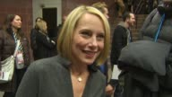 Amy Ryan talks about her character in 'Win Win' and its storyline on her take on the Sundance atmosphere on the odd mix of people making it fun on...