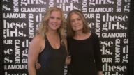 Amy Schumer and Gloria Steinem at Glamour Presents 'These Girls' at Joe's Pub on May 20 2013 in New York New York