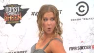 Amy Schumer at the Comedy Central Roast Of Charlie Sheen at Los Angeles CA