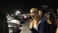 Amy Schumer outside the Kanye West concert at The Forum in Los Angeles in Celebrity Sightings in Los Angeles
