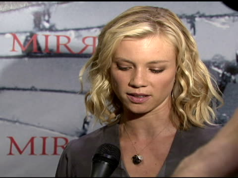 Amy Smart at the ComicCon 2008 at San Diego CA