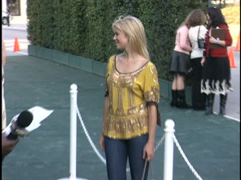 Amy Smart at the Environmental Media Awards at Wilshire Ebell Theatre