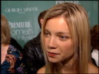 Amy Smart at the Women in Hollywood Luncheon at the Four Seasons Hotel in Beverly Hills California on October 11 2000