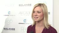 Amy Smart on her dress on tonight's event and on what she loves about Yigal Azrouel's clothes at the The 2nd Annual Autumn Party Benefiting...