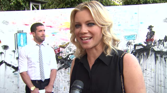 Amy Smart on what brings her out to Ciroc Cabana Club what makes the Sunset Strip iconic at CIROC Cabana Club Kicks Off Memorial Day Weekend...