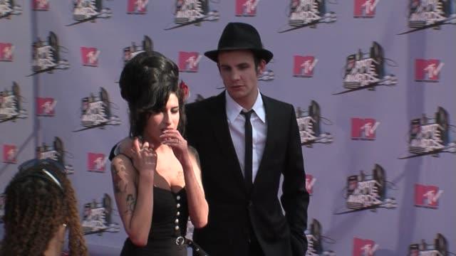 Amy Winehouse Blake FielderCivil at the MTV Movie Awards @ the Universal Amphitheatre at Los Angeles California