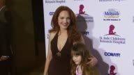 Amy Yasbeck and daughter Stella at the Runway For Life Benefiting St Jude Children's Research Hospital at the Beverly Hilton in Beverly Hills...