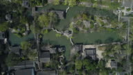 An aerial view of the famous Humble Administrator's Garden on March 27 2017 in Suzhou China
