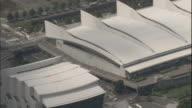 An Aerial view shows the Minato Mirai 21 area in Yokohama, Japan.