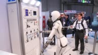 An AILA mobile dualarm robot system performs a demonstration at the CeBIT 2017 tech fair in Hannover Germany on Tuesday March 21 2017