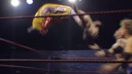 An American style professional wrestling match sequence