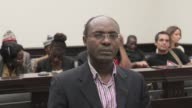 An Angolan court on Thursday sentenced a prominent anti corruption activist to a six month suspended jail term for defaming army generals in a book...