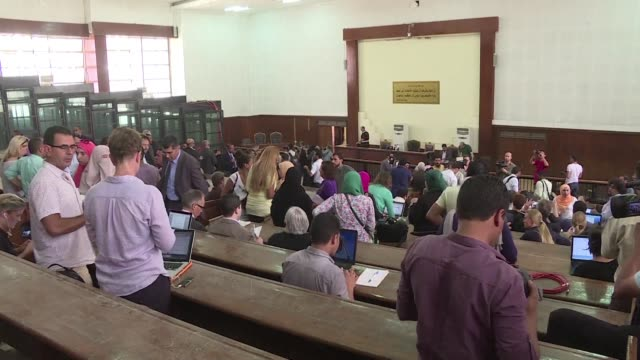 An Egyptian court on Sunday postponed for a second time its verdict in the retrial of three AlJazeera journalists rescheduling it for August 29 in a...