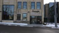 An employee works in a common area of Google Canadas newly unveiled Engineering Headquarters in Waterloo Ontario Canada on January 22 2016 The 185000...