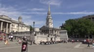 An English Anglican church at the northeast corner of Trafalgar Square in the City of Westminster London It is dedicated to Saint Martin of Tours...