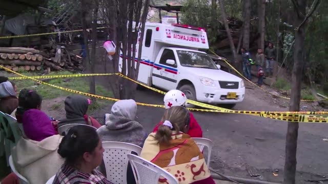 An explosion at an illegal coal mine in central Colombia killed at least eight people as rescuers scrambled to find five others still missing...