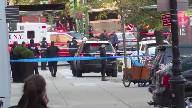 An eyewitness recounts the attack in Lower Manhattan that left eight people killed and numerous others wounded