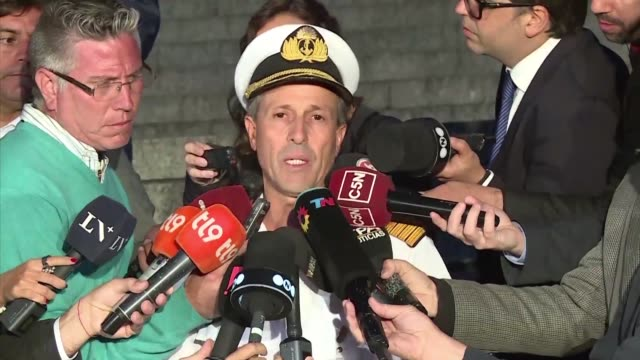 An international search mission for a missing Argentine submarine entered its sixth day Tuesday as uncertainty over the fate of its 44 crew members...