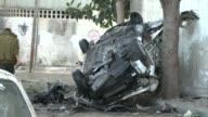 An Israeli air strike on Gaza City killed six people on Tuesday raising the days toll to 14 the Hamas health ministry said CLEAN New Israeli strike...