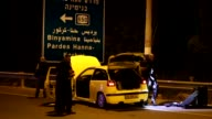 An Israeli Arab stabbed and wounded four Jews after ramming his car into them near the northern kibbutz of Gan Shmuel on Sunday police said