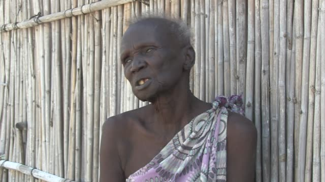 An old blind woman is the sole survivor of a massacre in which 40 people were killed at a church in South Sudan's small market town of Bor where...