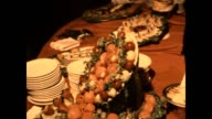An old school buffet from a wedding in the 1980's