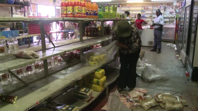An outbreak of pillaging which targeted dozens of stores began in Soweto after a foreign shopkeeper shot dead a teenager who allegedly tried to rob...