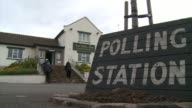 An undertakers and a football ground are among the more unexpected places to be turned into polling stations for the UKs general election