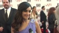 Ana de la Reguera on Morgan Freeman on how Morgan Freeman has influenced her at the 39th AFI Life Achievement Award Honoring Morgan Freeman at Culver...
