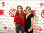 Ana Gasteyer and Amy Spanger at the StarStudded TCA Press Tour Party Hosted By Showtime at Universal Studios in Universal City California on January...