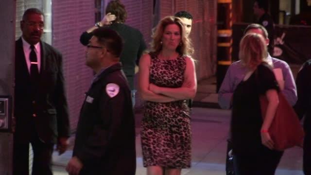 Ana Gasteyer departs Hollywood 10/24/12