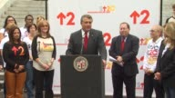 Ana Maria Polo Carmen Trutanich Paul Koretz and Laura Ziskin at the The City Of LA Declares Friday September 10th As 'Stand Up To Cancer Day' at Los...