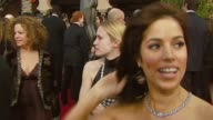 Ana Ortiz of 'Ugly Betty' on the event what she said to America Ferrera after she won a Golden Globe at the 2007 Screen Actors Guild SAG Awards at...