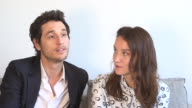 INTERVIEW Anais Demoustier Jeremie Elkaim on making a film about impossible love at 'Marguerite Julien' Interviews on May 20 2015 in Cannes France