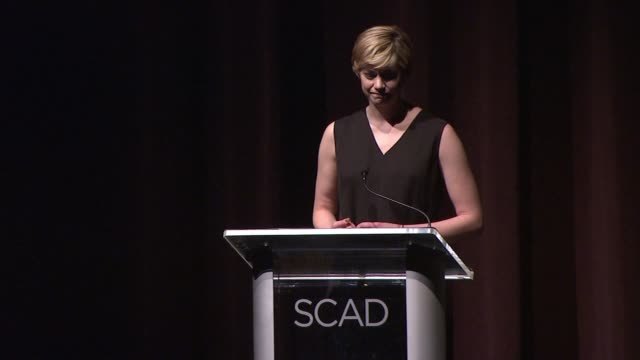 Analeigh Tipton at SCAD Presents 17th Annual Savannah Film Festival at SCAD Museum Of Art on November 02 2014 in Savannah Georgia