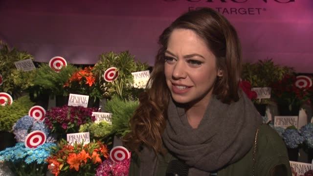 INTERVIEW Analeigh Tipton explains why she wanted to come to the event and what she is most looking forward to from the Prabal Gurung for Target...