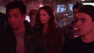Analeigh Tipton Friends go Clubbing at Bootsy Bellows in West Hollywood at Celebrity Sightings in Los Angeles Analeigh Tipton Friends go Clubbing at...