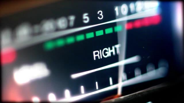 analog audio vu meter