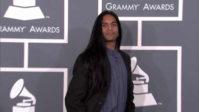 Anand Bhatt at The 55th Annual GRAMMY Awards Arrivals in Los Angeles CA on 2/10/13