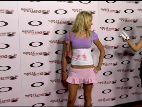 Anastasia Ashley at the Oakley Thump 2 Launch Party at Montmartre Lounge in Hollywood California on October 13 2005