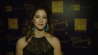 Anastasia White on what it means to be here tonight at 21st Annual Art Directors Guild Excellence In Production Design Awards at The Ray Dolby...