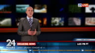 HD: Anchor Reading The Breaking News