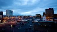 Anchorage Alaska giorno alla notte, Time lapse