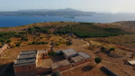 Ancient City of Aptera, Western Crete, Greece. Ruins, Archaeological site