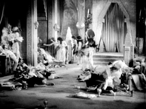 Ancient Showgirl Dancers