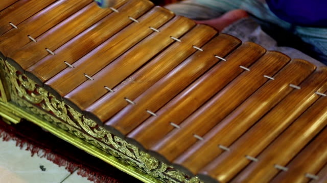 Ancient thai style xylophone